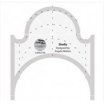 Shelly Creative Grids Non-Slip Free Motion Quilting Tool / Ruler SEE VIDEO Sewing Buddies Australia