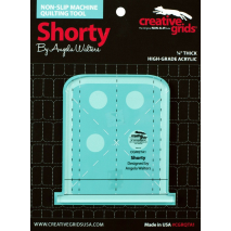 Shorty Creative Grids Non-Slip Free Motion Quilting Tool / Ruler SEE VIDEO 2 Sewing Buddies Australia