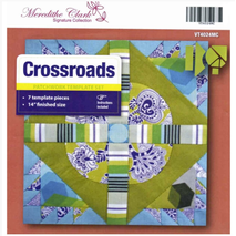 Cross Roads Patchwork Template Meredithe Clark Signature Collection Sewing Buddies Australia