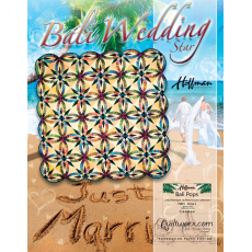 Bali Wedding Star Quilt Pattern by Judy Niemeyer Sewing Buddies Australia