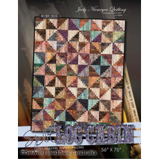 Split Log Cabin Quilt Pattern by Judy Niemeyer Sewing Buddies Australia