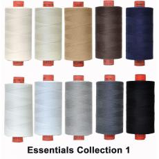 Essentials 10 Colour Set 1 Rasant Thread 1000M Sewing Buddies Australia