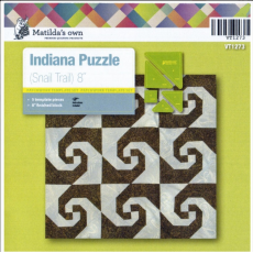 Indiana (Snail Trial) Patchwork Template Set Matilda's Own Sewing Buddies Australia