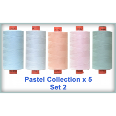 Pastels 5 Colour Set 2 Rasant Thread 1000M Sewing Buddies Australia