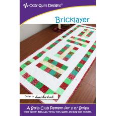 Bricklayer Pattern by Cozy Quilt Designs Sewing Buddies Australia
