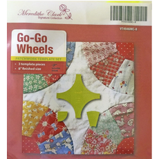 Go Go Wheels 8 Inch Patchwork Template Meredithe Clark Signature Collection Sewing Buddies Australia