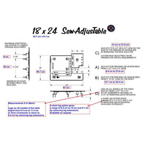 "18"" x 24"" Measurements"