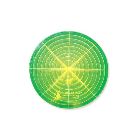 Circle Set Sml Patchwork Template ~ Matilda's Own