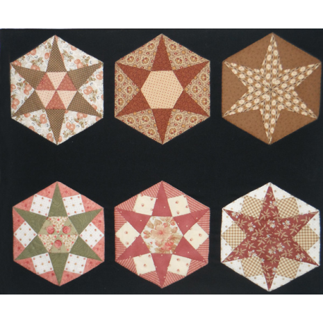 Hexagon Template Kit 01 by Zoe Clifton