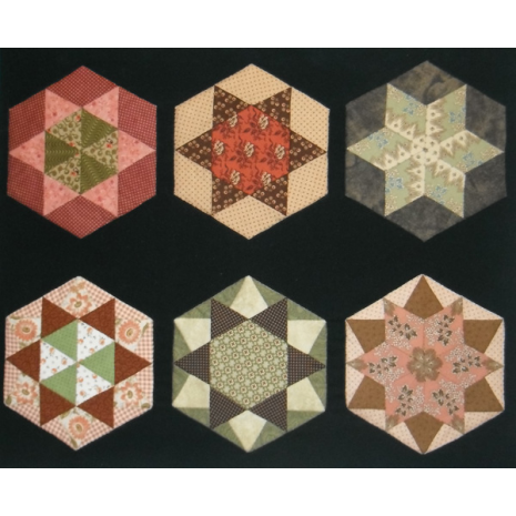 Hexagon Template Kit 04 by Zoe Clifton