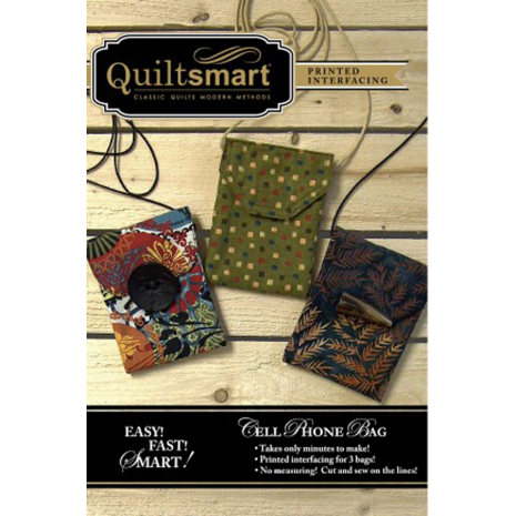 Mobile (Cell) Phone Bag Fun Pack by Quiltsmart