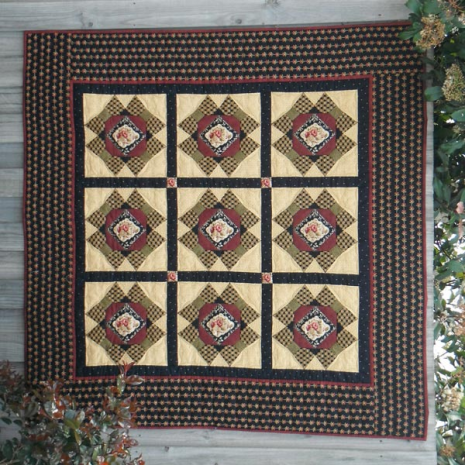 Mountain Ranges Quilt Pattern Incl. Templates by Zoe Clifton