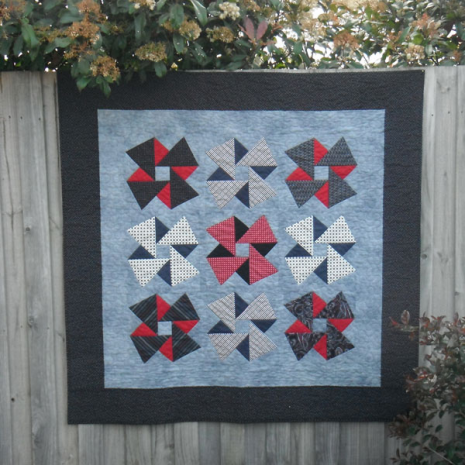Origami Quilt Pattern Incl. Templates by Zoe Clifton