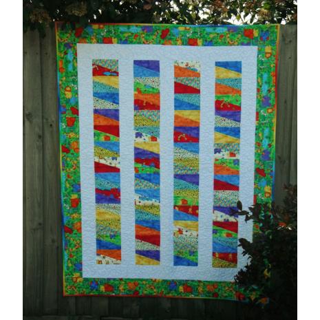 Slip Slidin' Away Quilt Pattern Incl. Templates by Zoe Clifton