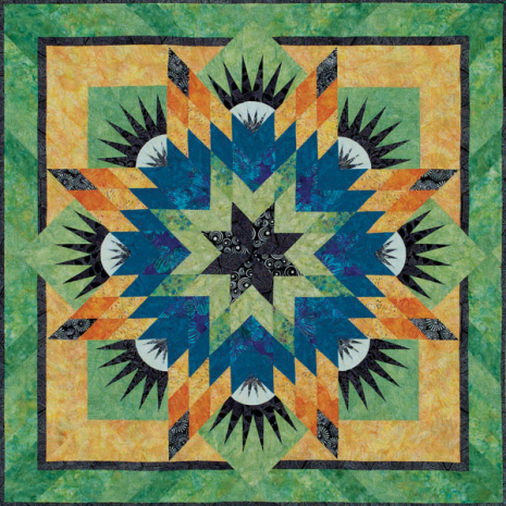 Summer Solstice Quilt Pattern by Judy Niemeyer