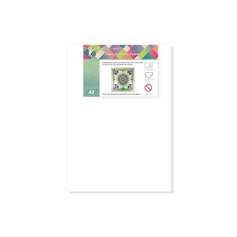 Printable Fabric (Inkjet) A3 x 5 Sheets
