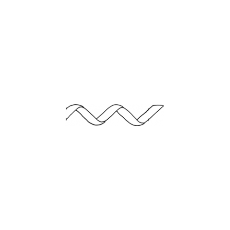 Thin Ribbon Border #30345 by Full Line Stencils
