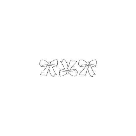 Pretty Bow Border #30361 by Full Line Stencils by Full Line Stencils
