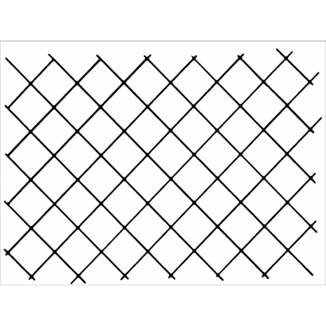 """1"""" Grid Background #30370 by Full Line Stencils"""