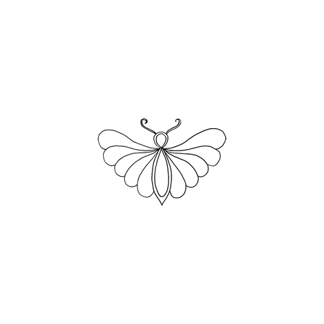 Madame Butterfly #30445 by Full Line Stencils