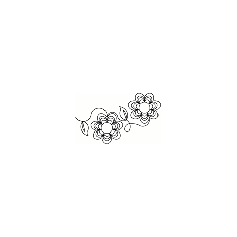 Kloster Flower #30554 by Full Line Stencils