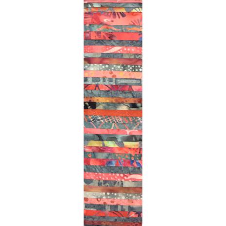 Moody Apricots Rainbow aka Jelly Roll Sewing Buddies Australia