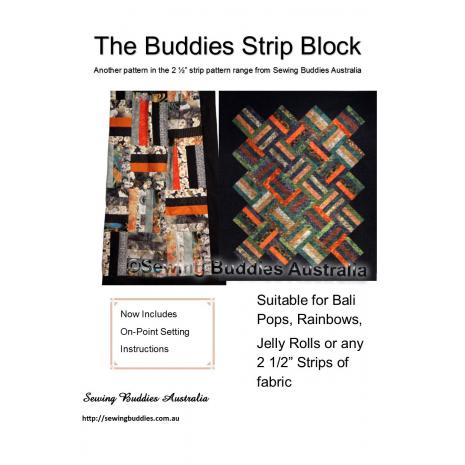 Buddies Strip Quilt Pattern Sewing Buddies Australia