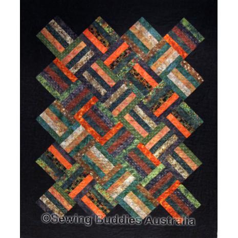Buddies Strip Quilt Pattern 2 Sewing Buddies Australia