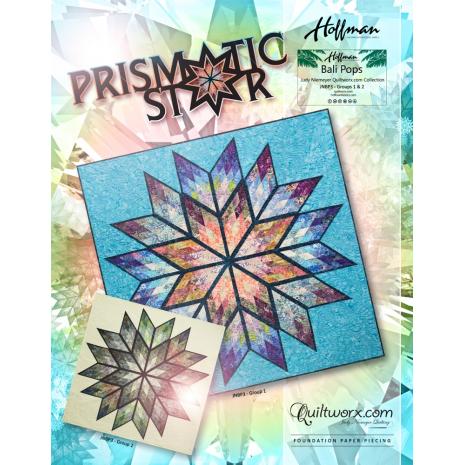 Prismatic Star Quilt Pattern by Judy Niemeyer