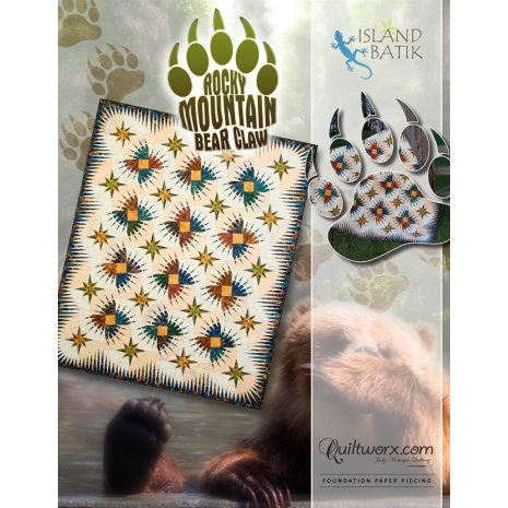 Rocky Mountain Bear Claw Quilt