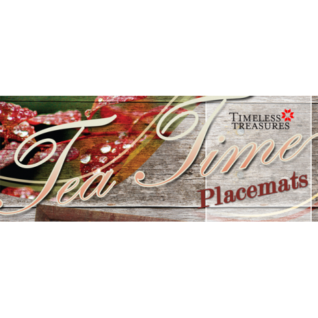 Tea Time Placemats Pattern Judy Niemeyer Banner