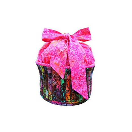 Cupcake Basket by Aunties Two Patterns ~ Jelly Roll Friendly