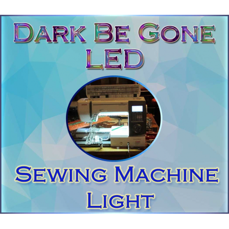 Dark Be Gone LED Under Throat Kit 8 Sewing Buddies Australia