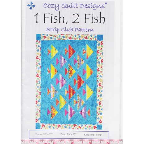 1 Fish 2 Fish by Cozy Quilt Designs