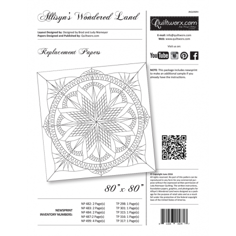 Allisyn's Wonderland Replacement Papers by Judy Niemeyer