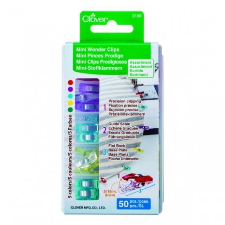 ​Clover Mini Wonder Clips 20 pack
