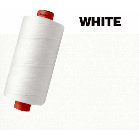 White #2002 Rasant Thread 1000M Sewing Buddies Australia