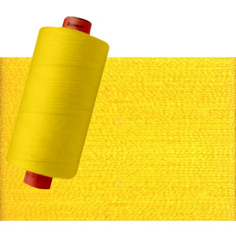 Yellow #X0120 Rasant Thread 1000M