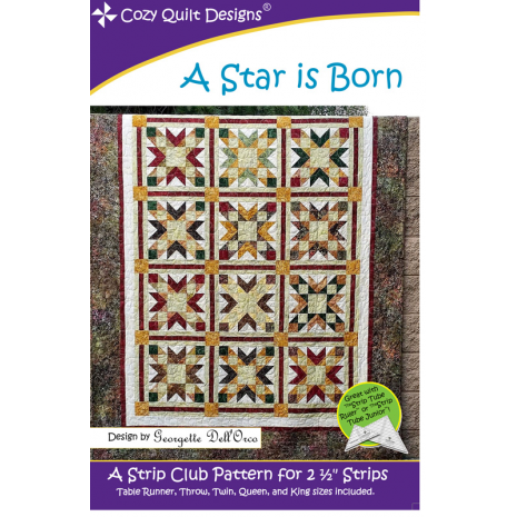 A Star is Born by Cozy Quilt Designs