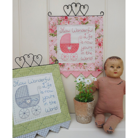 How Wonderful - Wall hanging by Sally Giblin, The Rivendale Collection