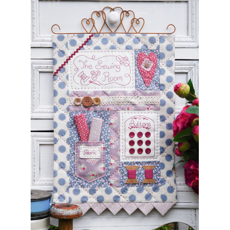 The Sewing Room - Wall hanging by Sally Giblin, The Rivendale Collection