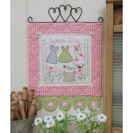Wash Day - Wall hanging by Sally Giblin, The Rivendale Collection
