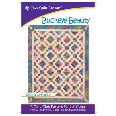 Buckeye Beauty by Cozy Quilt Designs - Sewing Buddies Australia