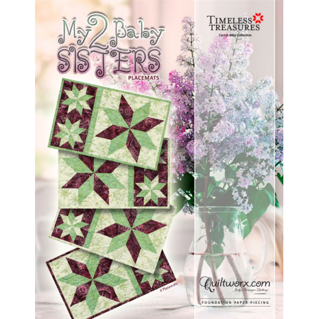 My 2 Baby Sisters Placemats  Kit