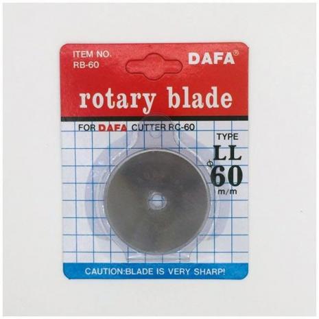Dafa 60mm Rotary Blades x 1 Sewing Buddies Australia