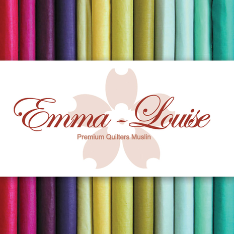 Emma Louise Premium Cotton Muslin - Begonia 3 Sewing Buddies Australia