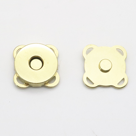 Spoke Magnetic Closure for Bags 18mm Antique Brass, Gold, Chrome and Gun Metal 2 Sewing Buddies Australia
