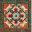Arizona Cactus Table Topper Pattern Colour 1