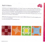 Back To Basics 3g Patchwork Template Set - Matilda's Own 3 Sewing Buddies Australia
