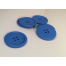 Blue Painted 40 mm x 3 Buttons